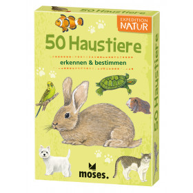 50 Haustiere - Expedition Natur